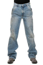 MAISON MARTIN MARGIELA MM10 New Men Blue Jeans Denim Pants Made ITALY