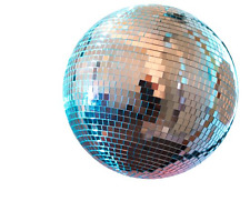 Disco Mirror Ball 12'' DJ Party Motor Combo Light Effects Kit Solid Construction