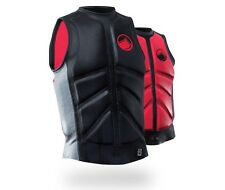 Liquid Force Cardigan Comp Wakeboard Impact Buoyancy Vest S XL Black 48876