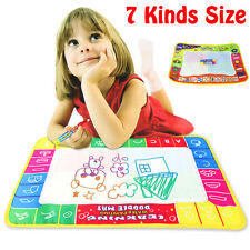 7 Kinds Children Water Drawing Painting Writing Mat Board Magic Pen Doodle Toy