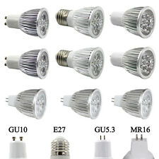Epistar E27 GU5.3 GU10 LED Spot Bulb Light 9W 12W 15W Dimmable Spotlight Lamp