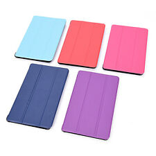 Magnet Clap PU Leather Cover Case for Amazon kindle fire 7 Protective Skin Fold@