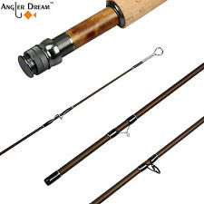 3/5/8WT Fly Rod 9FT Medium-fast Action Carbon Fiber ( IM8 )  Fly Fishing Rod