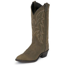 Justin Boots Justin Mens Round Toe 13in Bay Western Boot
