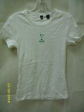Midori Melon Liqueur Promo Cocktail Glass - Ladies T-Shirt *NEW*