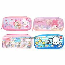 SANRIO HELLO KITTY LITTLE TWIN STARS POCHACCO PENCIL CASE COSMETIC BAG 6739