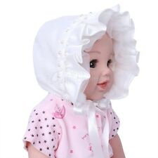 Toddler Infant Baby Girls Princess Rose Ribbon Bonnet Cap Summer Sun Hat Beanie