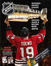 THE NATIONAL HOCKEY LEAGUE OFFICIAL GUIDE & RECORD BOOK 2016 - NATIONAL HOCKEY L