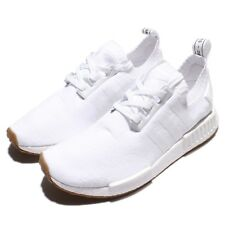 adidas Originals NMD_R1 PK PrimeKnit BOOST White Gum Men Running Sneakers BY1888