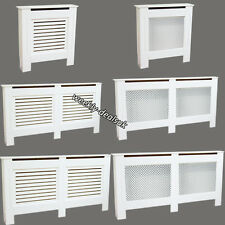 White Painted Radiator Cover Grill Furniture Cabinet Shelf Modern Home Designs