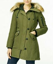 MICHAEL KORS WOMEN'S PARKA DOWN COAT FUR HOOD