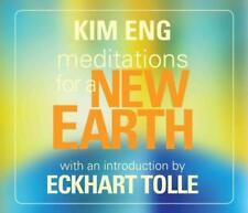 MEDITATIONS FOR A NEW EARTH - ENG, KIM/ TOLLE, ECKHART (INT) - NEW CD/SPOKEN WOR