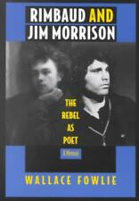 RIMBAUD AND JIM MORRISON - FOWLIE, WALLACE - NEW PAPERBACK BOOK