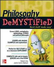 PHILOSOPHY DEMYSTIFIED - NEW PAPERBACK BOOK