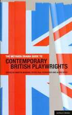 THE METHUEN DRAMA GUIDE TO CONTEMPORARY BRITISH PLAYWRIGHTS - NEW PAPERBACK BOOK