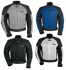 Tourmaster Mens Intake Air 3 Textile Mesh Motorcycle Jacket All Sizes & Colors