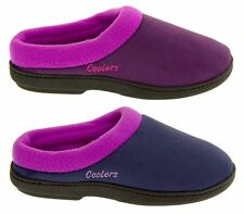 Ladies Coolers Premier Mule Slippers Womens Soft Comfy Cushioned Slipper Mules