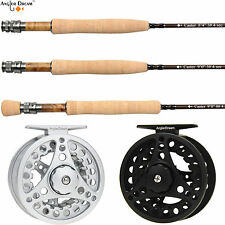 3/5/8WT Fly Rod and Reel Combo 8.3/9FT Medium-fast Carbon Fiber Fly Fishing Rod