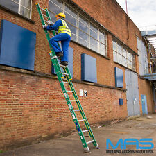 Trade GRP Extension Ladders - Free Delivery - Rope Operated Trade Ladder