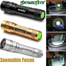 15000LM 3 Modes Flashlight CREE XML T6 LED 18650 Zoomable Torch Camping Lamp L