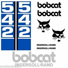 Bobcat 542 542B DECALS Stickers Skid Steer loader New Repro decal Kit