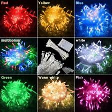 Static + Flash Effect 7/15FT Battery Powered Xmas Fairy String Lights 20/40 LED