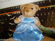 TEDDY BEAR Girl Soft Toy Plush LUVABLES FLUFFY FACTORY Collectable