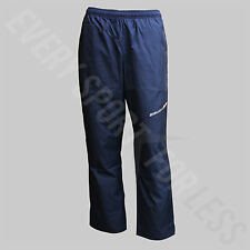 Bauer Hockey 100% Polyester Youth Flex Zippered Pants - Navy (NEW)