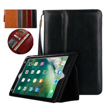 Luxury Genuine Leather Case Smart Auto Sleep Stand Cover For Apple iPad Cover