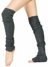 Thigh High Leg Warmers 28 Inch Stretch Knit Made In USA by KD dance New York