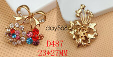 Mobile phone small accessories colorful flowers colorful diamond jewelry QQ206