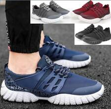 New Men's Sport Sneakers Shoes Trainers Running Fashion Lace UP Fitness Size