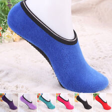 1 Pair Women's Warm & Cozy Feet Fuzzy Slippers Non-Slip Socks Booties Indoor Hot