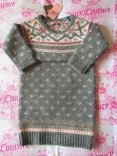 NWT JUICY COUTURE Heather Fairisle Chunky Sweater Dress Sz 4 8