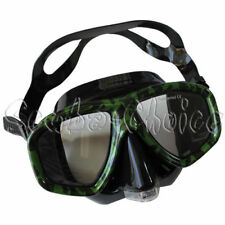 Camouflage Dive Purged Mask NEARSIGHTED Prescription RX Optical Lenses