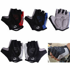 Unisex Cycling Gloves Bicycle Motorcycle Sport Half Finger Gloves S- XL Size #W