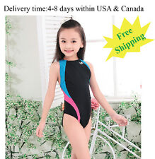 Yingfa 976-2 one piece racing and training swimsuit for girls Free shipping