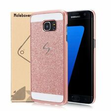 For Samsung Galaxy S8 Case Luxury Bling Glitter Crystal Hard PC Case Cover