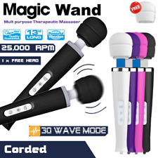 30 Mode CORDED Magic Wand Body Personal Massager Vibrator HITACHI