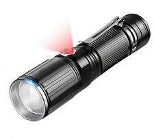 Flashlight T6 2000LM Zoomable CREE LED 18650 USB Torch Light 4*AAA 1*26650