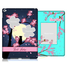 CUSTOM CUSTOMIZED PERSONALIZED DREAMY BLOSSOMS HARD BACK CASE FOR APPLE iPAD