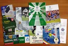 PROGRAMMES CHL 2000/2001 - 2003/2004 updated AUGUST 2017