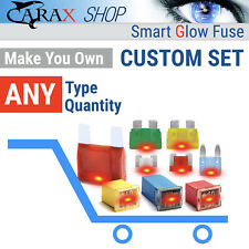 Assortment Fuses LED GLOW WHEN BLOWN ASP ATP ASM Cartridge type Maxi Blade fuses
