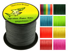 9 Color 1000M 4 Weave Super Strong Dyneema Spectra pe Braided Sea Fishing Line