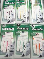 New Women's FootJoy Weathersof Glove For RH Golfers Pick your Color Medium/Large