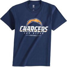 NFL Pro Line San Diego Chargers Youth Navy Team Lockup T-Shirt