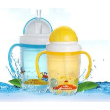 Baby Bottle Sippy Cup With Handles Baby Cup Toddlers Sippy Cup Straw Baby Bottle