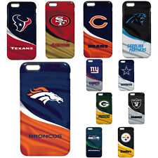 Official PRO NFL Shock Proof Impact Rubber Hard Cover Fan Case For Cell Phone