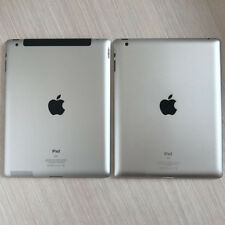 iPad 2nd 3rd Gen WiFi + 3G Replacement Back Battery Cover Rear Housing Silver