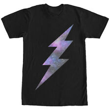 Lost Gods Space Lightning Bolt Mens Graphic T Shirt